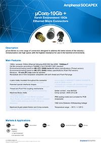 Amphenol µcom – 10Gb +