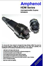 Amphenol HDM Series JUL13