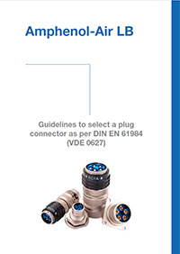 Guidelines to select a plug connector as per DIN EN 61984